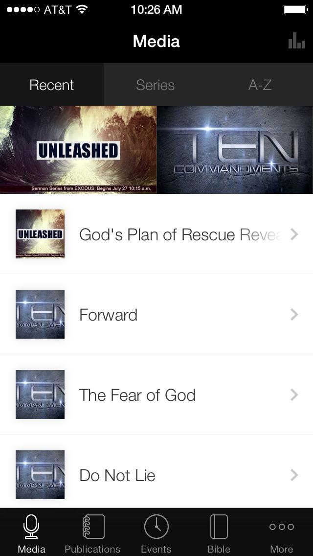 Trinity Baptist Church App screenshot 1