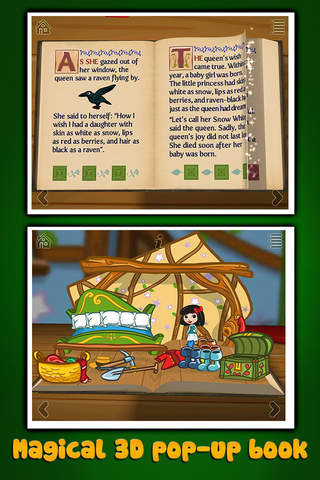 Grimm's Snow White ~ 3D Interactive Pop-up Book - náhled