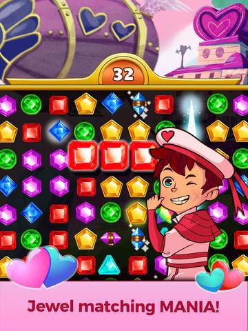 Jewel Mania Valentine's Day screenshot 7