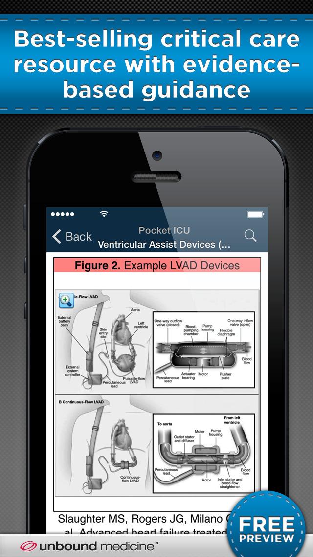 Pocket ICU screenshot 1