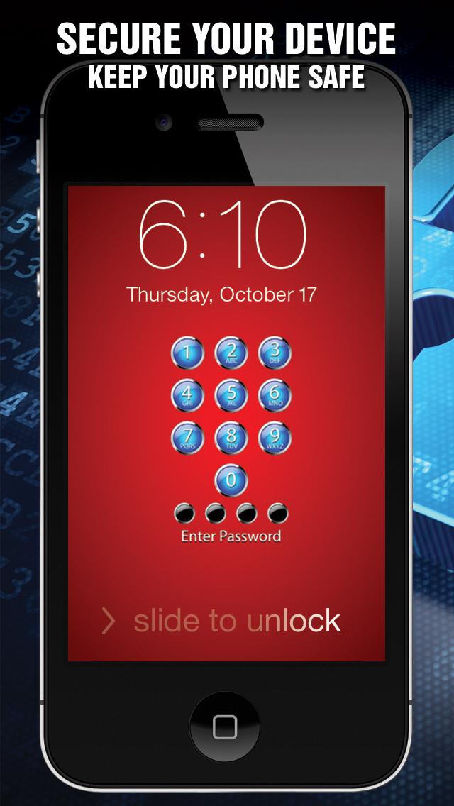 Best Lock Security: Phone Passcode screenshot 1