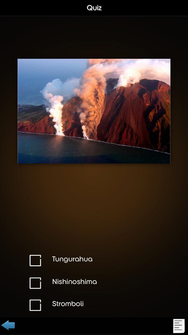 Volcanos Info+ screenshot 1