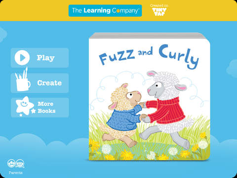 Fuzz and Curly - The Learning Company Little Books screenshot 6