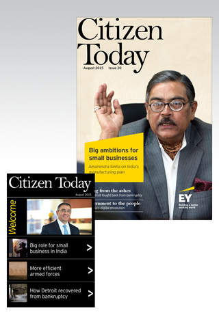 EY Citizen Today - náhled