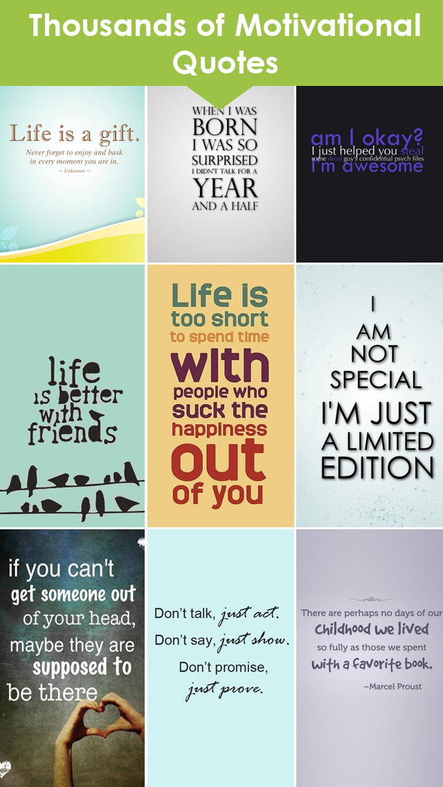 Quotes & Sayings WallpaperS & Inspirational Maker screenshot 1