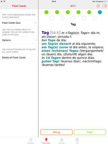 German - Spanish Berlitz Basic Talking Dictionary screenshot 8