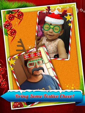 Santa Claus Photo Booth - Festive Merry Christmas Luxury Edition screenshot 6