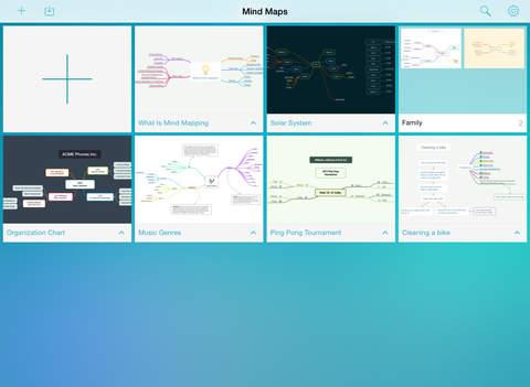 MindNode – Delightful Mind Mapping screenshot #1