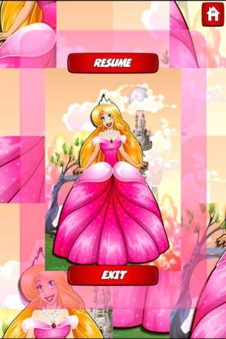Fairy Tale Princess - Beautiful Picture Sliding Pu - náhled