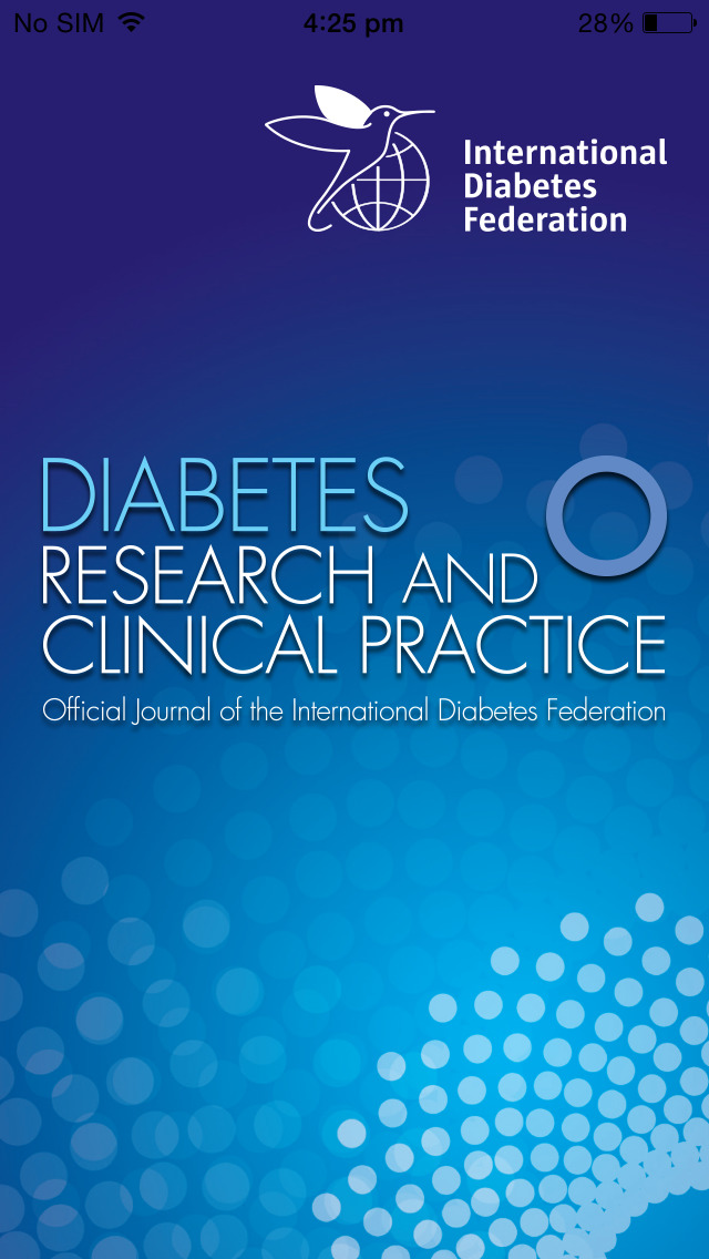 Diabetes Research and Clinical Practice screenshot 1