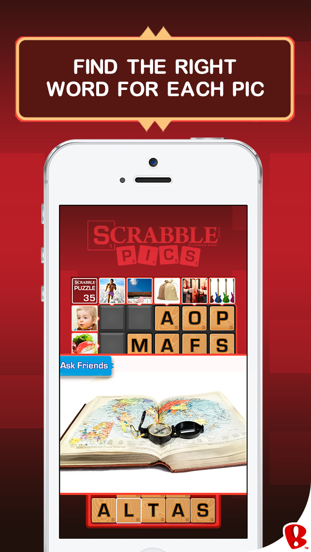 SCRABBLE Pics screenshot 2
