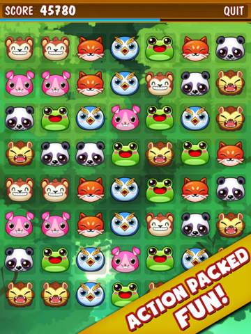 ``Animal Zoo Matching Mania - Match 3 Pet Puzzle Game screenshot 4