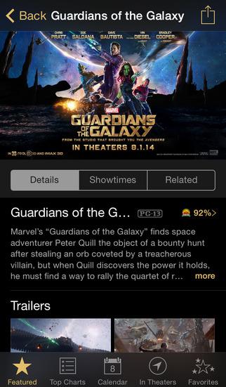 iTunes Movie Trailers screenshot #2