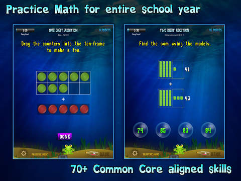 Second Grade Splash Math Common Core Learning Game screenshot 6