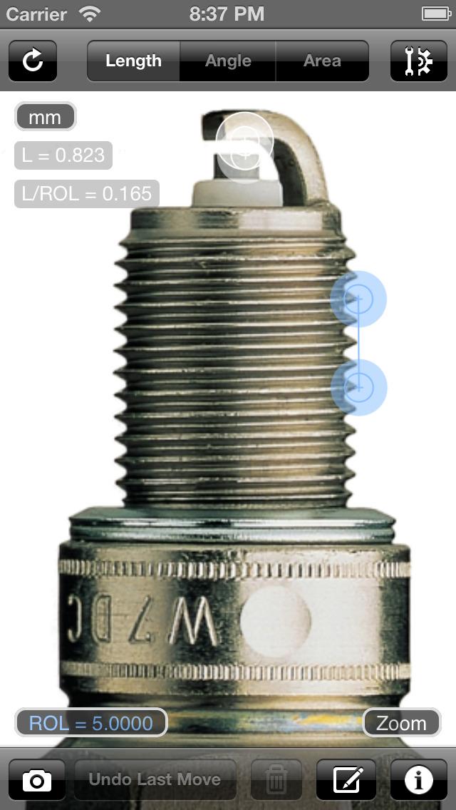 Partometer - camera measure screenshot 2