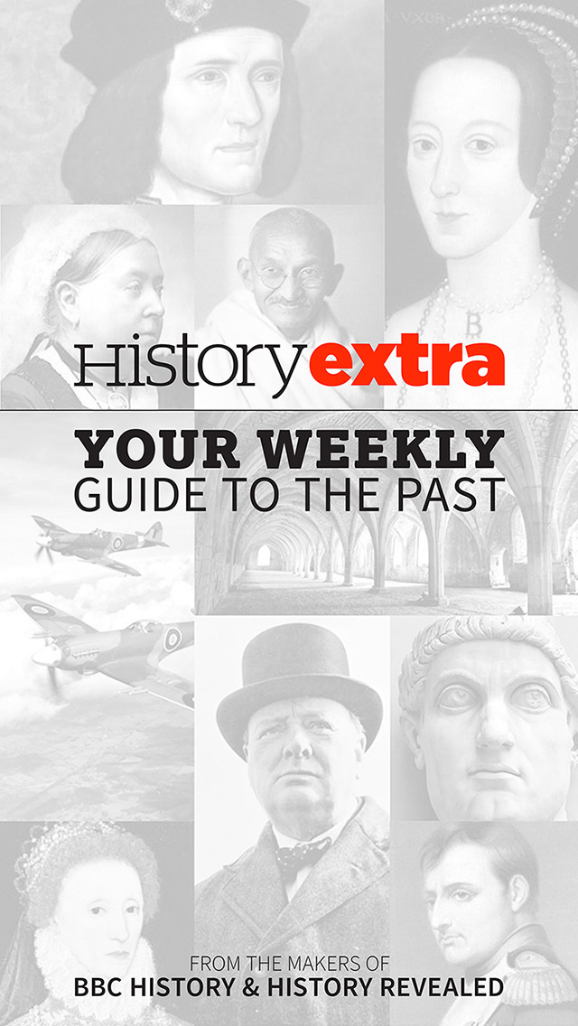 History Extra - Your weekly guide to the past screenshot 1