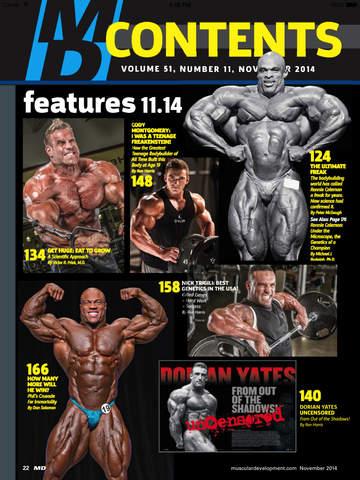 Muscular Development screenshot 9