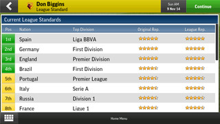 Football Manager Handheld 2015 screenshot 5