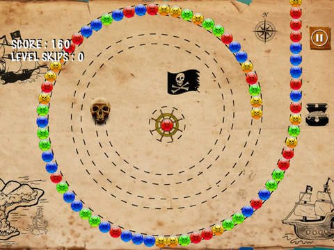 Amazing Pirate Bubble Match - best marble shooting game screenshot 7
