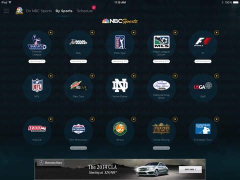 NBC Sports screenshot 9