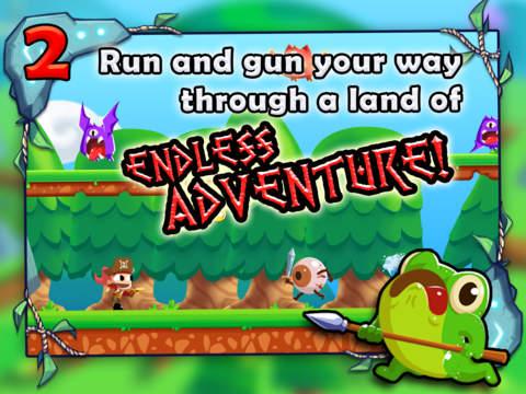 Adventure Land - Rogue Runner Game screenshot #3
