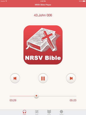 NRSV Bible (Audio & Book) screenshot 6