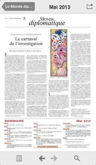 Le Monde diplomatique screenshot 2
