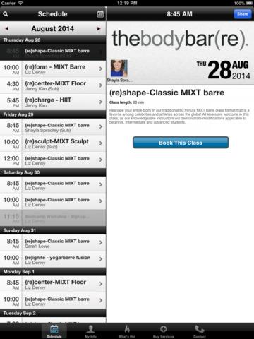 thebodybar(re) Las Vegas screenshot #3