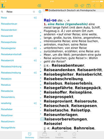 German Learner's Dictionary screenshot 6