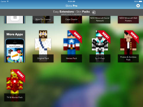 Skins Pro for Minecraft (Unofficial) screenshot 8