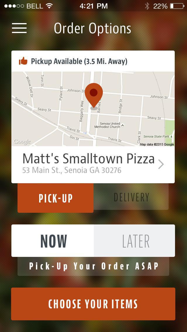 Matt's Smalltown Pizza screenshot 2