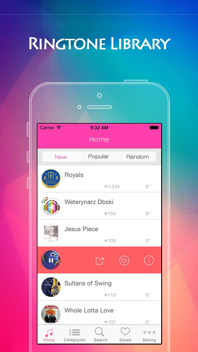 Ringtone for iPhone & iOS 8 - Ringtone Maker & Ringtones box