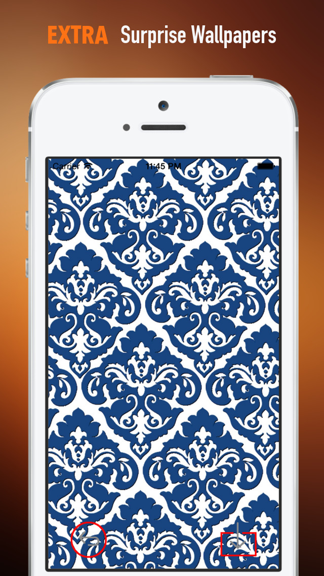 Damask Print Wallpapers HD: Quotes Backgrounds Creator with Best Designs and Patterns screenshot 3