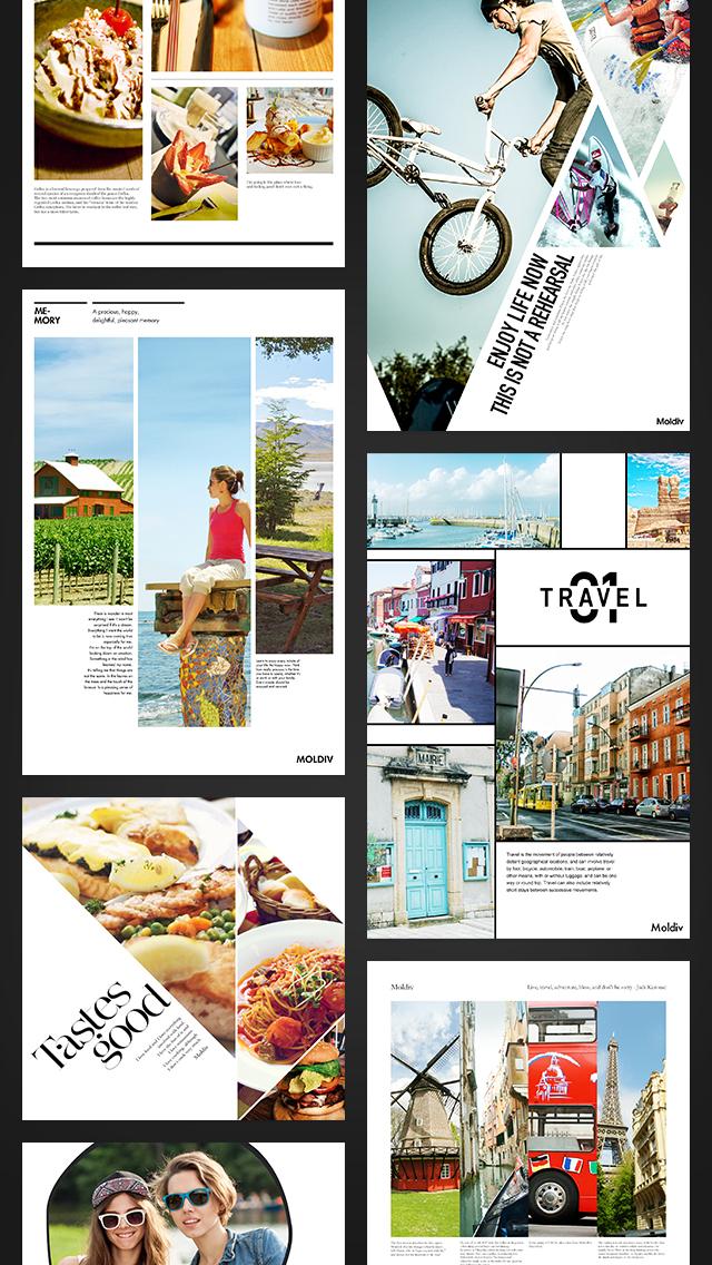 MOLDIV - Photo Editor, Collage screenshot 2