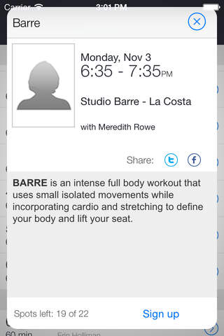 Studio Barre - náhled