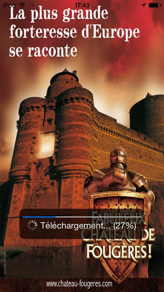 Fabuleux Château de Fougères screenshot 1