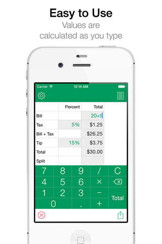 Tips HD Pro - Easy Tip Calculator - náhled
