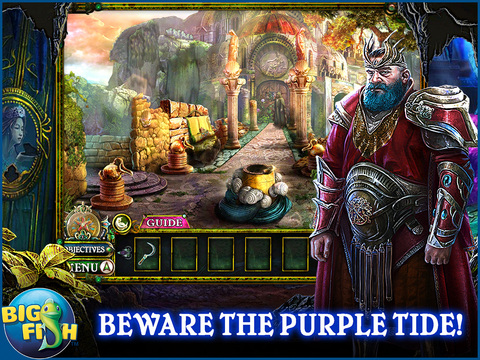 Dark Parables: The Little Mermaid and the Purple Tide HD - A Magical Hidden Objects Game (Full) screenshot 1