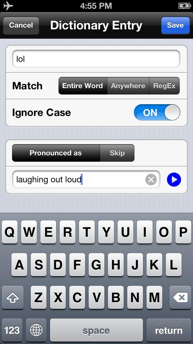 Voice Dream Reader Lite screenshot 3