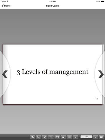 CLEP Principles of Management screenshot 10