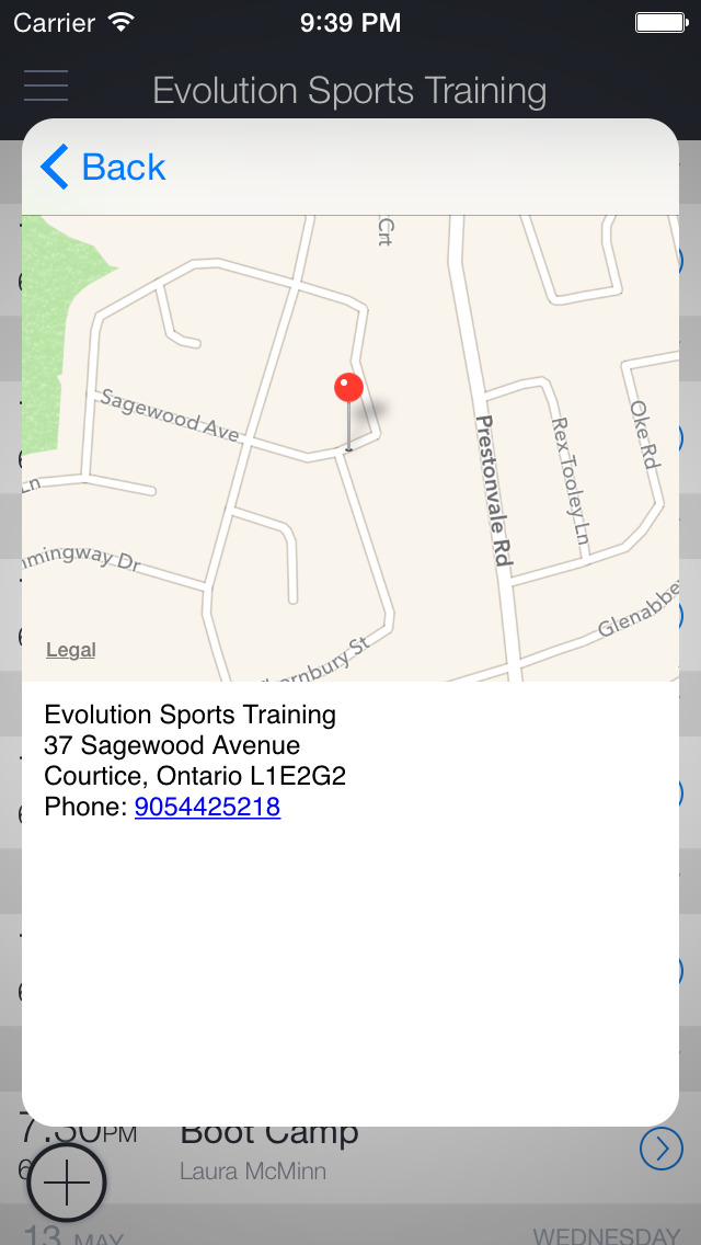 Evolution Sports Training screenshot 3