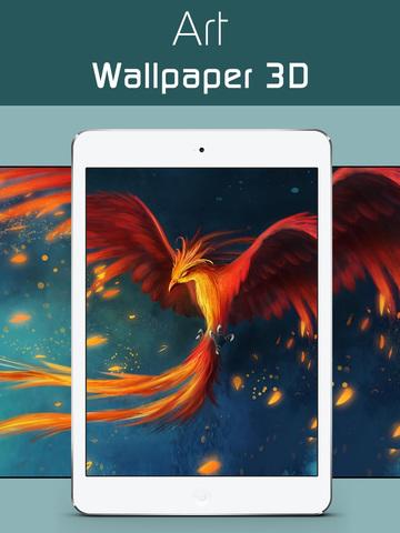 Art Wallpapers & Backgrounds 3D –Beautiful Abstract & illusion HD Lock Screen Wallpaper screenshot 6