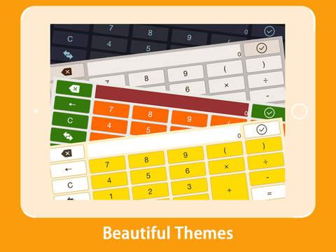 Calculator KeyBoard screenshot 6