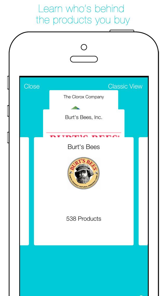 Buycott - Barcode Scanner & QR Bar Code Scanner screenshot 4