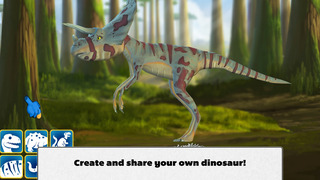 Ansel & Clair: Triassic Dinosaurs - A Fingerprint Network App screenshot 4