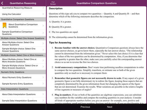 The Official GRE Guide screenshot 8