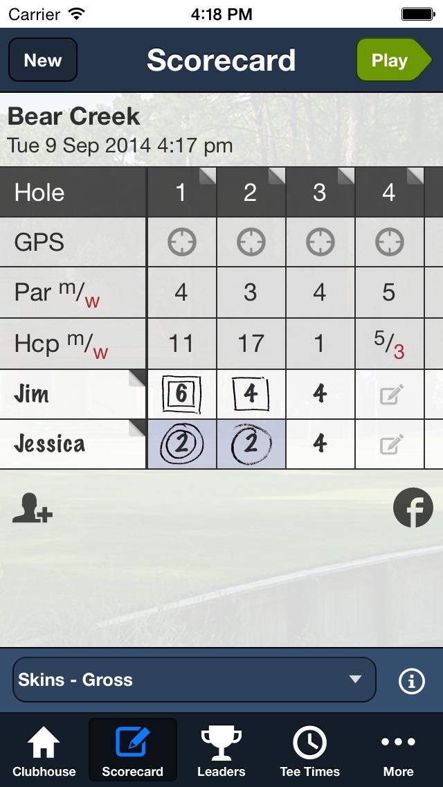 Bear Creek Golf Club SC screenshot 4