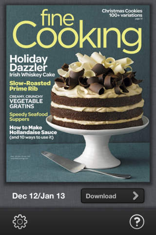 Fine Cooking Magazine - náhled