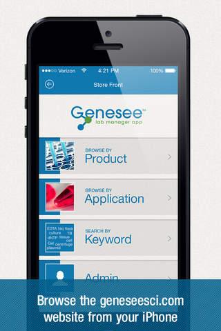 Genesee Lab Manager - náhled