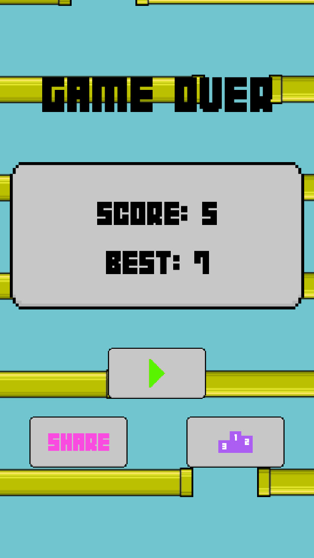 Flappy Circle Bird screenshot 4